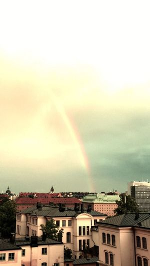 Check This Out Hello World Taking Photos Stockholm Rainbow