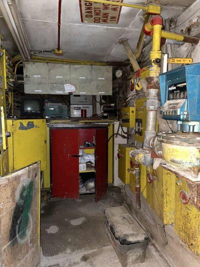 Interior of industry