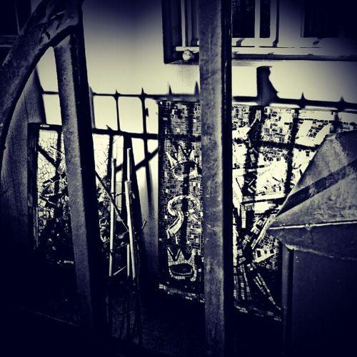 behind bars... Black Bw Munich Mayerschehofkunstanstalt