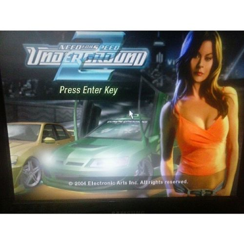 Atleast playin the nfs career can kill the hot afternoon boredom NFS Underground2 , old game but nice Ea ElectronicArts
