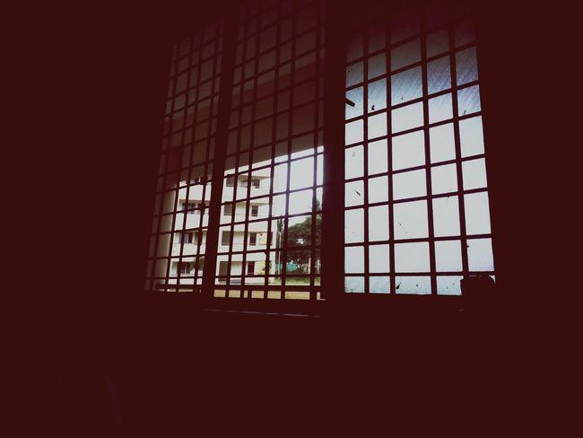 Window Dark Geometric Shape Window Frame Architecture Building Exterior