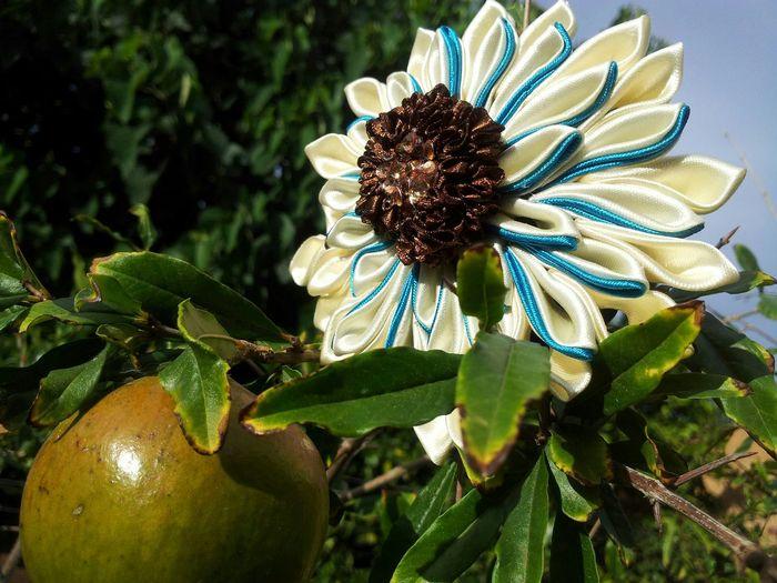 DIY Kanzashiflower Diyer Beauty Photooftheday Check This Out Inspirational Diystuff Kanzashidiyer Hairpin