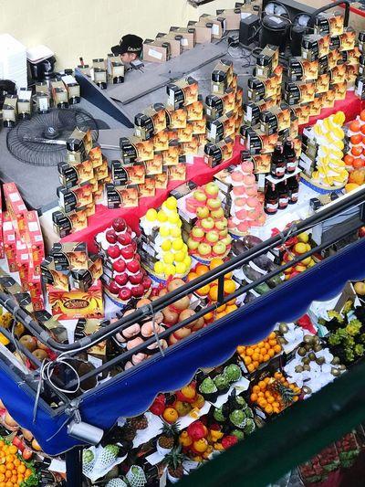 Fruit market in