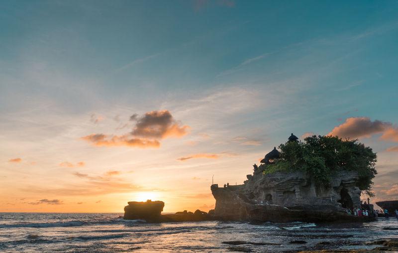 Sunset at Tanah