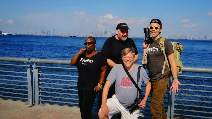 Had a fantastic time on our NYC photowalk last week, my wife Kandee took this group shot. EyeEm Festival 15 Meetup NY Photowalk Enjoying Life Enjoying The Sun EyeEm In NYC 2015 For My Friends That Connect