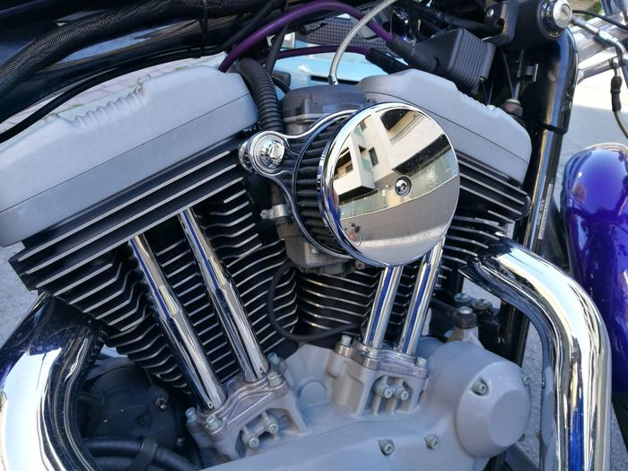 Mode Of Transportation Transportation Engine Motor Vehicle Land Vehicle Machinery Day Motorcycle Technology Metal Vehicle Part Outdoors Close-up No People Machine Part Stationary Wheel Clean