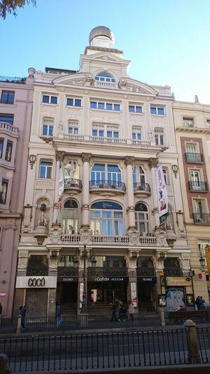 Teatro Cofidis Alcazar Taking Photos Arquitectura Madrid Architecture Architecture_collection