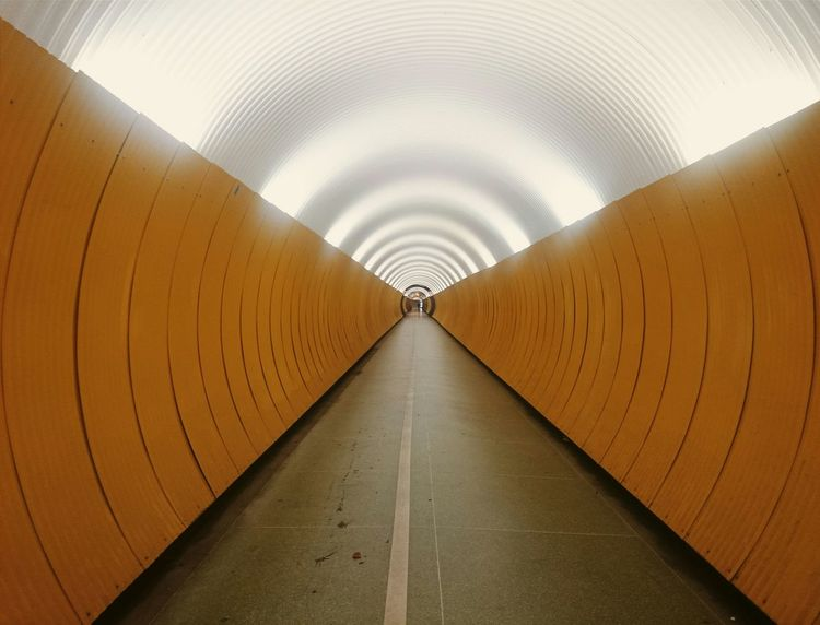 Tunnel Tunnelvision Tunnel View Sweden Stockholm Stockholmphoto