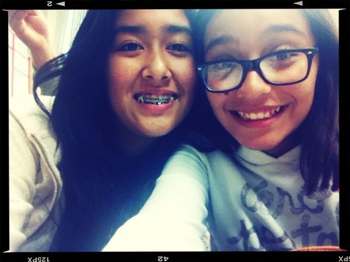 My best friend and me !! ❤