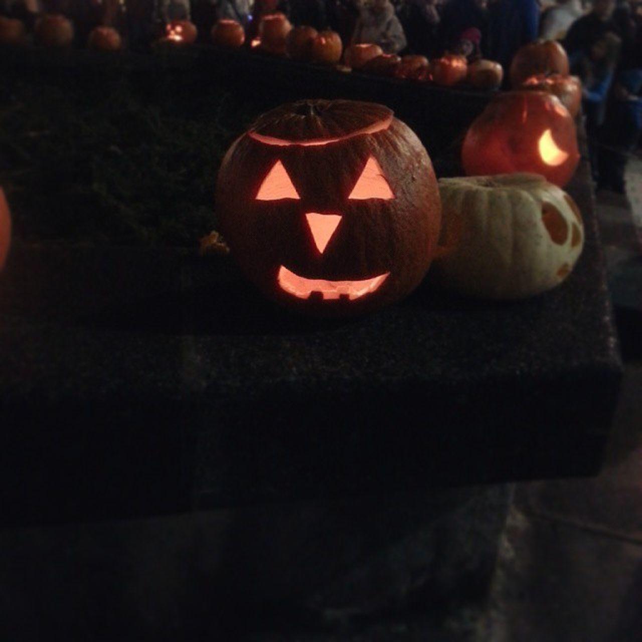 pumpkin, celebration, halloween, jack o lantern, tradition, holiday - event, illuminated, anthropomorphic face, night, cultures, no people, indoors, lantern, close-up