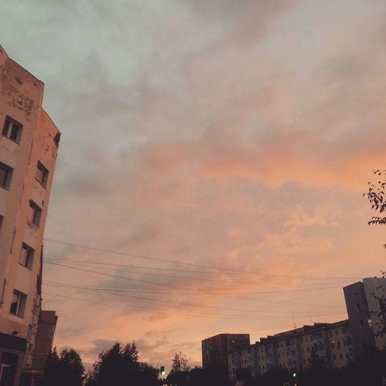Sky Clouds And Sky City