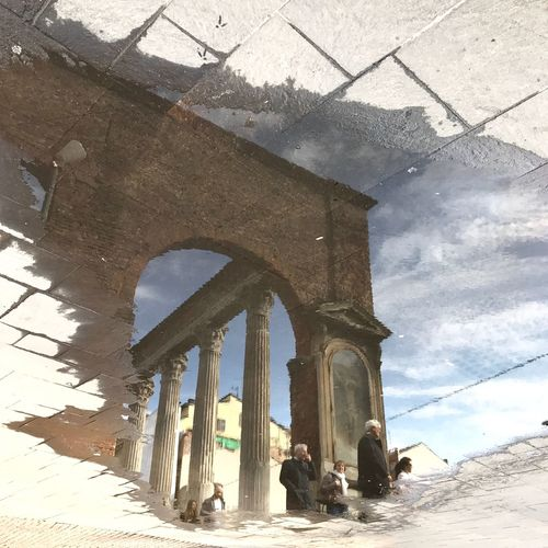 Architecture Built Structure Outdoors Day Sky Water No People Reflection IPhoneography Cityscape Building Exterior Real People