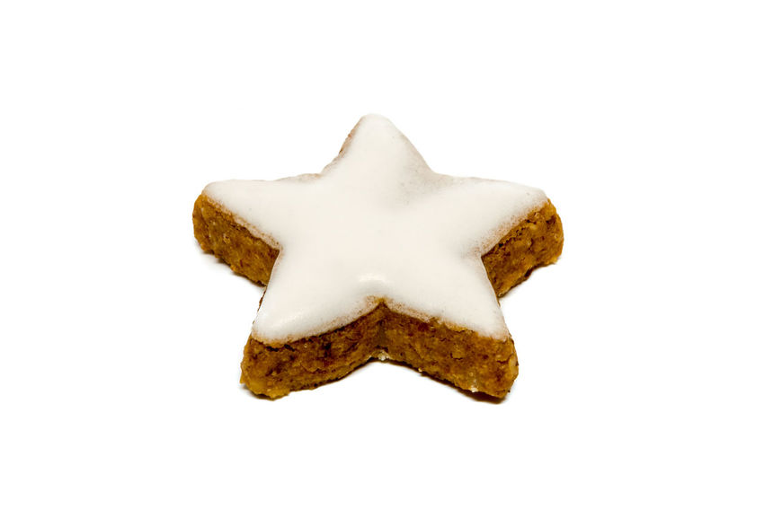 Star shaped cinnamon cookie Christmas Christmas Cookie Christmas Cookies Cinnamon Cookie Food Star Star Cookie Star Shaped Star Shaped Fudge White Background