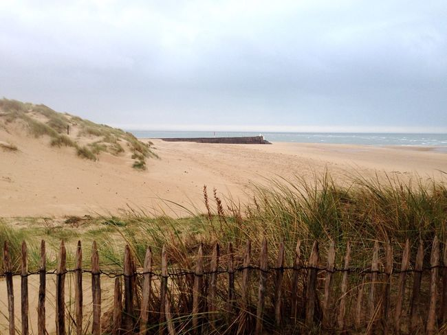 Sea Eased By The Sea Beach Life Is A Beach Fence Dunes Landscapes With WhiteWall