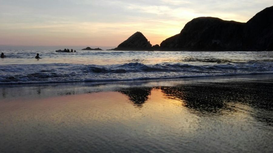 Catarindo Peru Arequipa - Peru Huawei Photography Huawei Huawei Water Sea Wave Sunset Beach City Summer Sand Sun Reflection