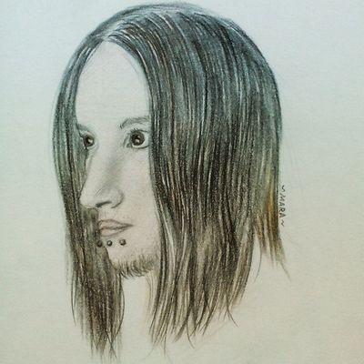 Меня нарисовали, очень прикольно Innoendband Innoend Lovelyrabbit Alternative Rock Russia рисунок