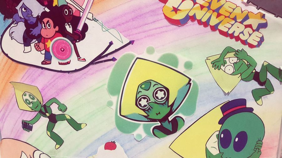 colorful loveKawai Steven Universe Peridot