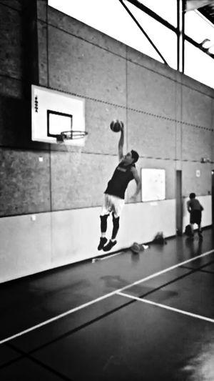Basketball Aucune pression ? Dunk