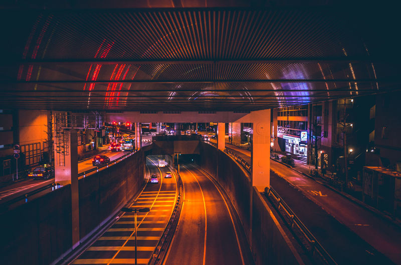 Atmosphere Cyberpunk Futuristic Japan Reflection Road Traffic Transportation Architecture bridge - man made structure building exterior built structure City connection Ikejiri-ohashi Atmosphere Cyberpunk Futuristic Japan Reflection Road Traffic Transportation Architecture Bridge - Man Made Structure Building Exterior Built Structure City Connection High Angle View Highway Illuminated Night No People Orange Color Outdoors Transportation Tunnel Urban The Architect - 2018 EyeEm Awards HUAWEI Photo Award: After Dark Humanity Meets Technology My Best Photo