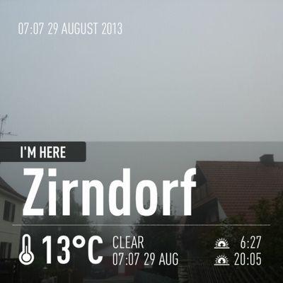 Hitchcock weather Foggy
