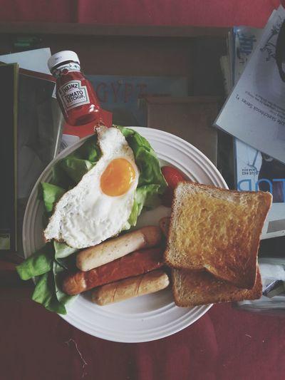 Today's breakfast. Throwback morning lol. ????? Relaxing That's Me Enjoying Life Breakie