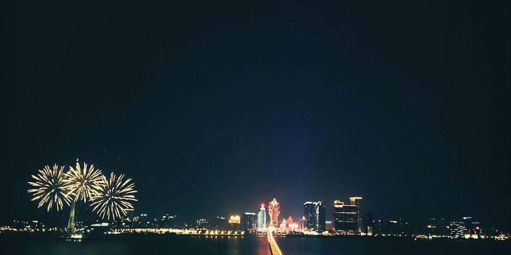 Fireworks 2013 by France fireworks team in macau. Nightphotography by my Sony Xperia Z :-)