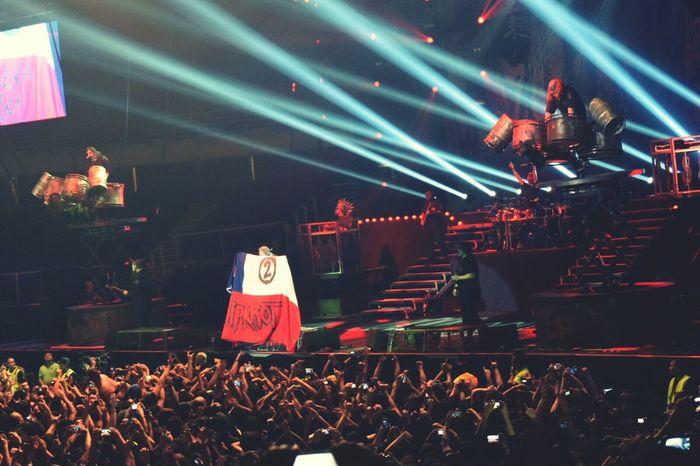 Slipknooooot! 💙🎵Slipknot En Chile Corey Taylor
