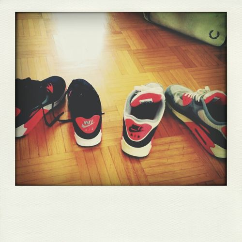 Nikes on my feet Playground Hanging Out