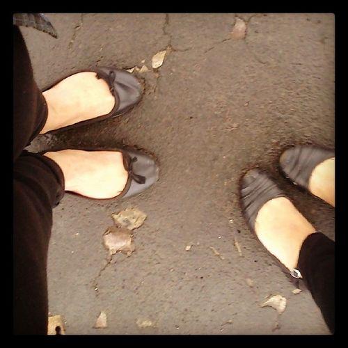 Why face? When u can take feet.....lol Nehu Walking Boredom flats