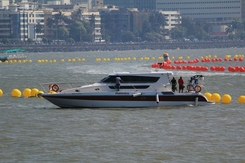 Race Nautical Vessel Lifestyles Mode Of Transport Outdoors City Sea Water Day People Motion Boat Sports Race Boats Power Boats Floating On Water Splash