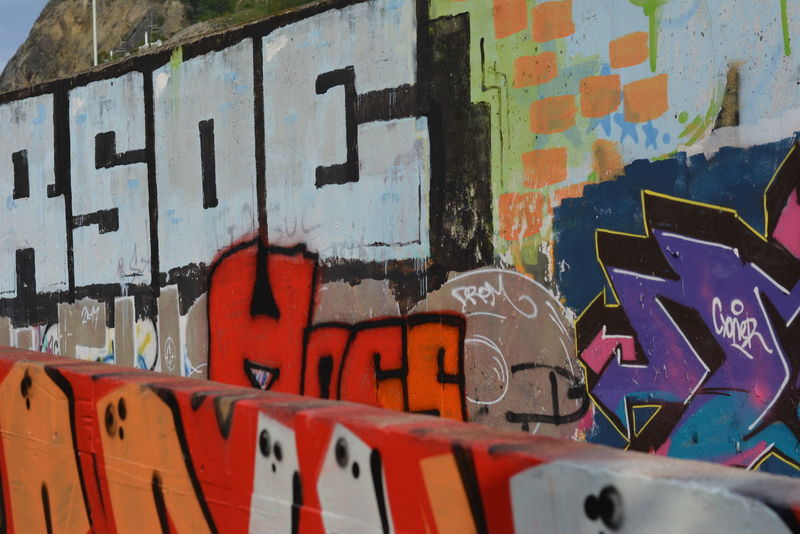 Architecture Built Structure Close-up Day Graffiti Multi Colored No People Outdoors Text