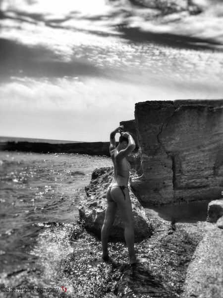 Sensual_woman The Amazing Human Body Shilouette Female Female Community Tadaa Community Life Is A Beach BW Collection Beach Photography Modelgirl