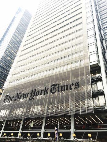 The New York Times Big Apple NYC Photography