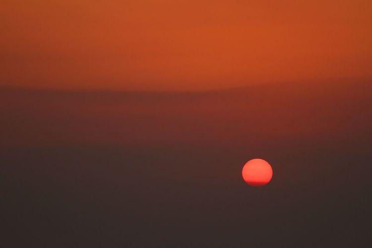 いつかの夕日♪(*^^)/