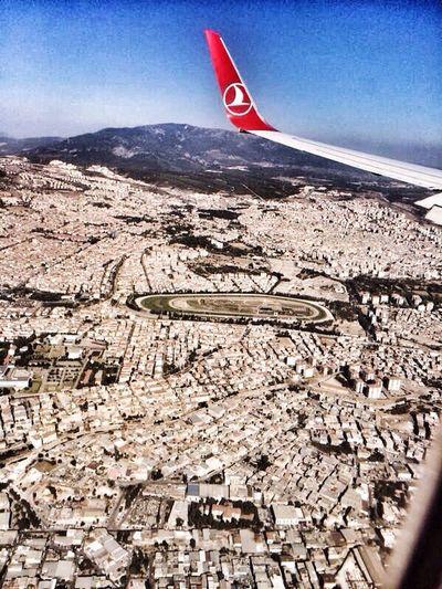 Flying Plane Izmir Turkey Relax Enjoying Life Hi!