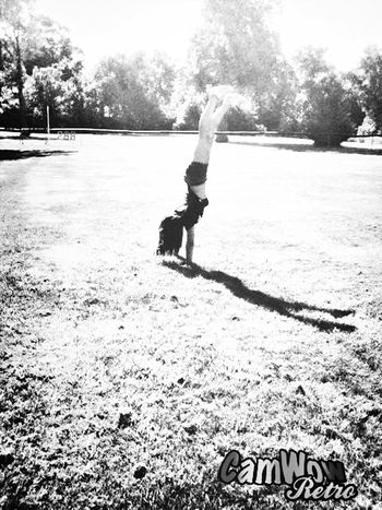 Taking Photos That's Me Hanging Out Handstand