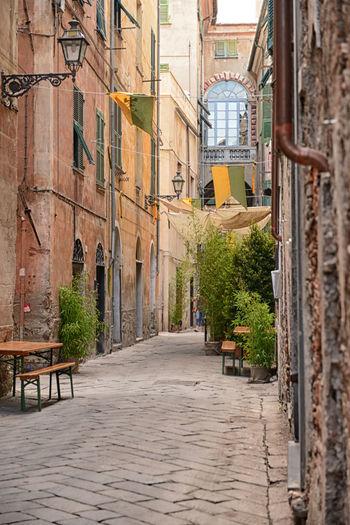 Sidewalk in city