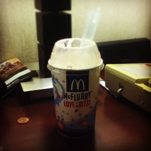 Mickey D's McFlurry  Loveittobits