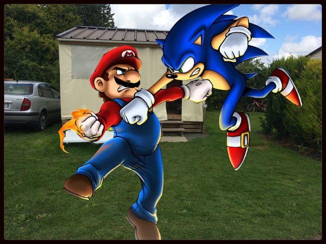 Fight Mario Sonic Montage