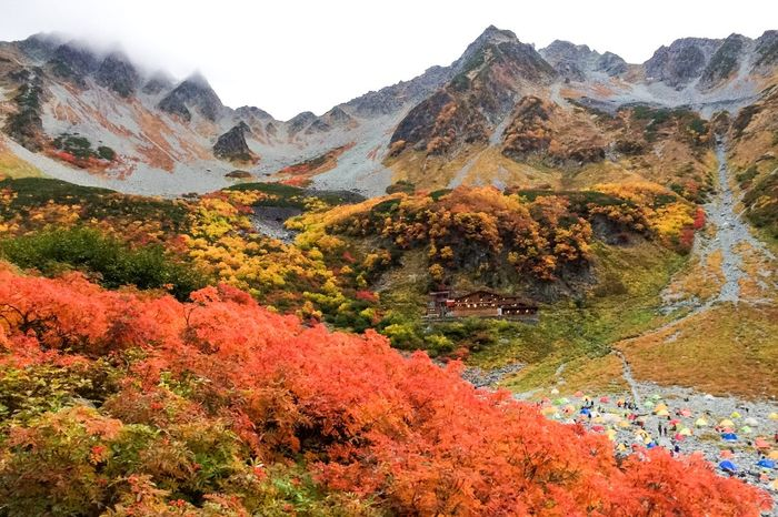 今年は行けるかな。。。錦秋の彩と涸沢小屋 Mountains EyeEm Nature Lover EyeEm Best Shots EyeEm Best Shots - Nature