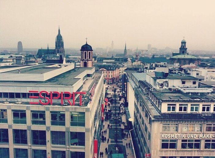 Frankfurt Frankfurt Am Main Frankfurtammain Germany View View From Above Tower Shop Esprit City Views Showcase: February