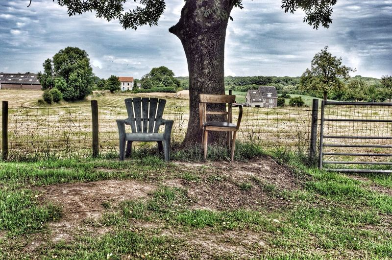 Chair Outdoor Photography Urban Under The Tree Garden Chair Relax Zone Nature Field Chairswithstories