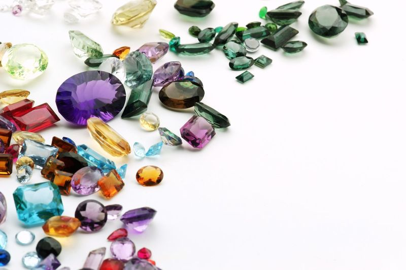 Real gemstones Gems Gemstones Real Authentic Jewelry Jewellery Jewels Amethyst Amethyst Stone Quartz Topaz Diamond Colors Variety Copy Space Close-up Close Up
