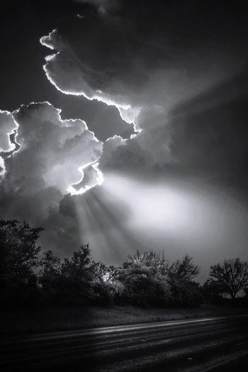 Sunset -Storm