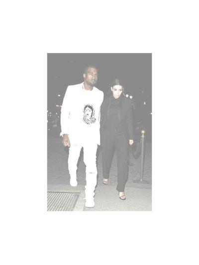 Kanye In The New FVSN Shirt