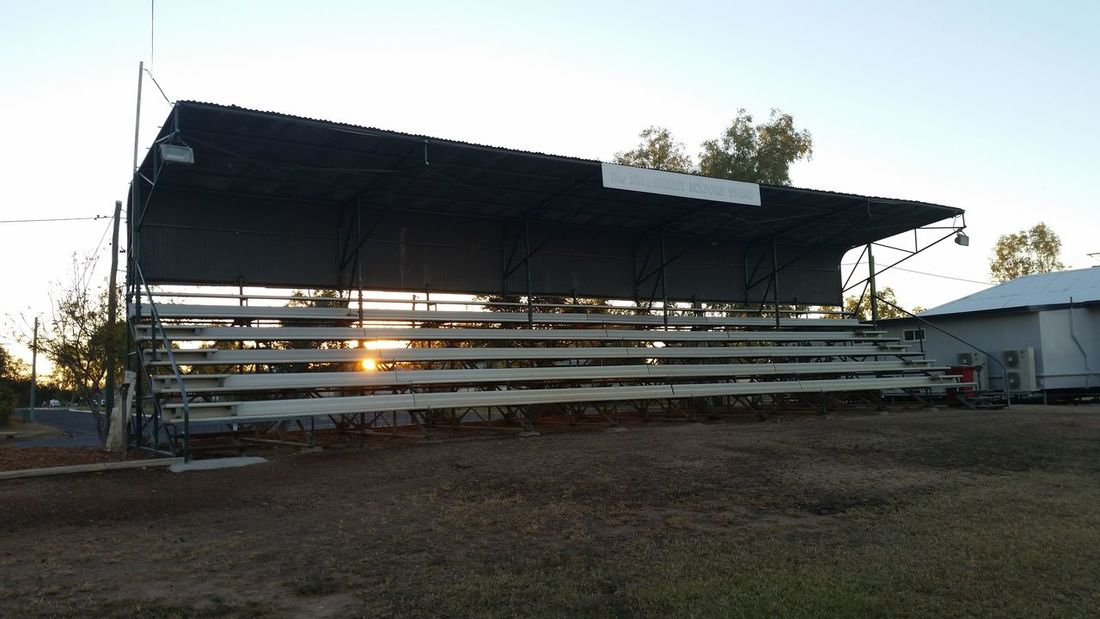 51 days driving around Australia - Day 39 Julia Creek Sports Field Built Structure No People Outdoors Travel Australia