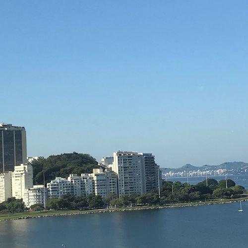Rio💙❤️ Building Exterior Architecture Built Structure City Building Sky Water Nature Day City Life Blue Cityscape