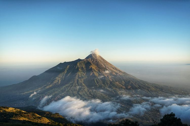 Mountain merapi