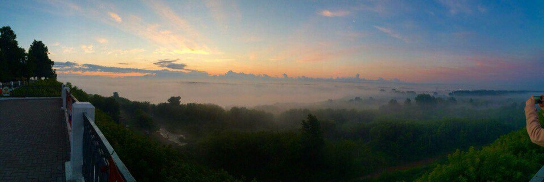 Туман...