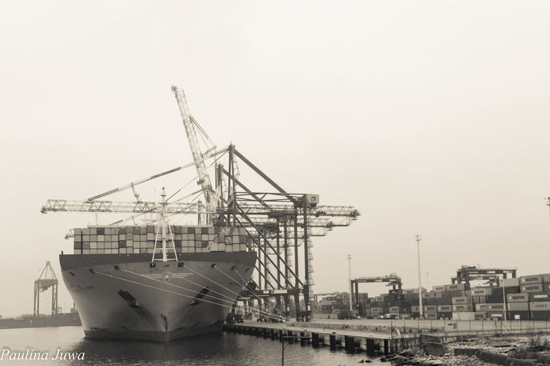 Gdansk (Danzig) Day Gdansk_official Industry No People Sea Seaport Ship Trojmiasto Water EyeEmNewHere